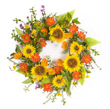 More about the 'Sunflower Wreath' product