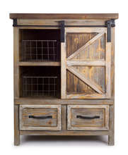 More about the 'Farmhouse Cabinet w/Baskets' product