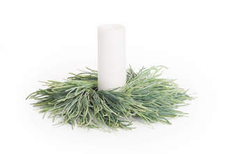 Pearl Grass Wreath (Set of 2)