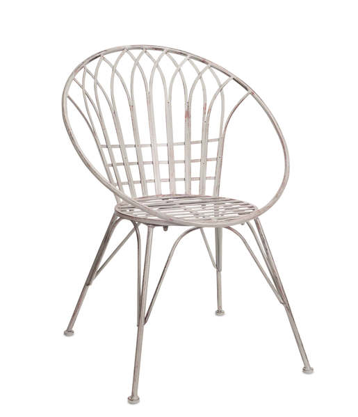 "Chair (Set of 2) 34.5""H Iron"
