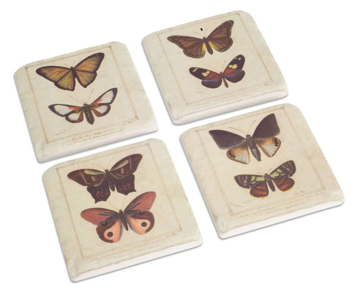 Butterfly Coasters (Set of 16)