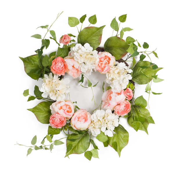 Mixed Floral Wreath