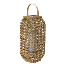 "More about the 'Lantern 20""H Wicker/Glass' product"