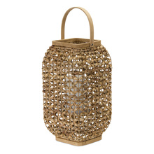 "More about the 'Lantern 21.5""H Wicker/Glass' product"