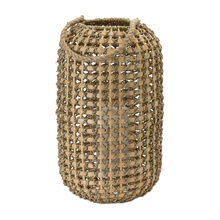 "More about the 'Candle Holder 17""H Wicker/Metal' product"