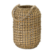 "More about the 'Candle Holder 13""H Wicker/Metal' product"