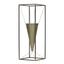 "More about the 'Cone Vase Planter 10.5"" x 29.5""H Iron' product"