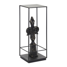 "More about the 'Finial Plant Stand 11.75"" x 32.25""H Iron/Resin' product"