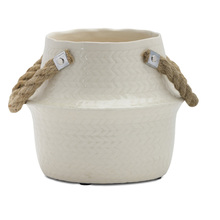 "More about the 'Pot (Set of 2) 9.5"" X 8""H Terra Cotta' product"