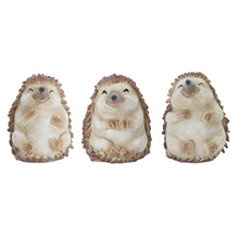 "More about the 'Hedgehog (Set of 12) 3.5""H Resin/Stone Powder' product"