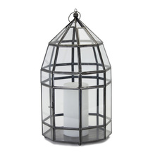 "More about the 'Lantern 8"" x 15""H Glass/Iron' product"