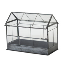 "More about the 'Box 10.5"" x 8.25""H Glass/Iron' product"