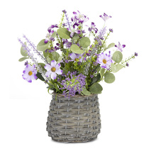 "More about the 'Mini Floral Basket (Set of 2) 8""W x 13.5""H Polyester/Plastic' product"