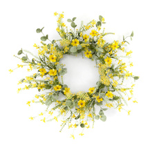 "More about the 'Mini Floral Wreath 20""D Polyester/Plastic' product"