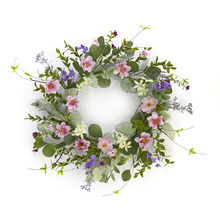 "More about the 'Mixed Floral Wreath 18""D Polyester/Plastic' product"