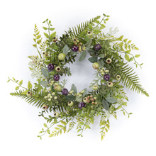 "More about the 'Pod/Foliage Wreath 19""D Foam/Plastic' product"