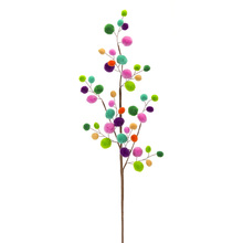 "More about the 'Pom Pom Spray (Set of 12) 28""H Polyester/Wire' product"