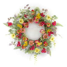 "More about the 'Poppy Wreath 20""D Polyester/Plastic' product"