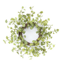 "More about the 'Ginkgo Foliage Wreath 20""D Polyester' product"