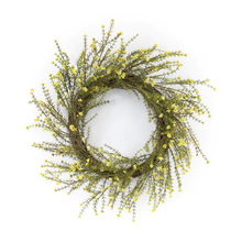 "More about the 'Mini Floral Wreath 18""D Plastic/Polyfoam' product"