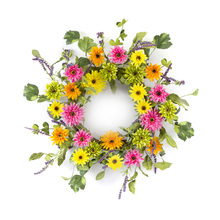 "More about the 'Gerbera Daisy Wreath 20""D Polyester' product"
