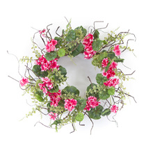 "More about the 'Geranium Wreath 19""D Polyester' product"