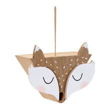 "More about the 'Fox Birdhouse (Set of 2) 10.25"" x 9""H MDF' product"