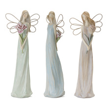 "More about the 'Angel (Set of 3) 13""H Resin/Stone Powder' product"