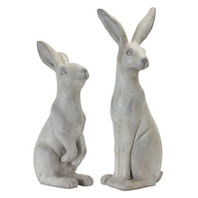 "More about the 'Rabbit (Set of 2) 19.5""H, 24""H Stone Powder' product"
