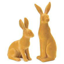 "More about the 'Rabbit (Set of 4) 7.5""H, 10""H Resin/Stone Powder' product"