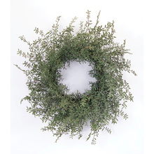 "More about the 'Spring Foliage Wreath 24""D Plastic/Rattan' product"