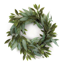 "More about the 'Eucalyptus Wreath 27""D Polyester' product"