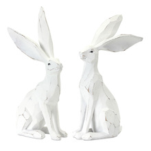 "More about the 'Rabbit (Set of 2) 12""H Resin/Stone Powder' product"