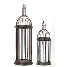 "More about the 'Bird Cage (Set of 2) 23.25""H, 35.5""H Metal' product"