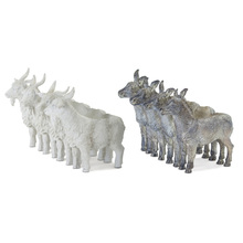 "More about the 'Donkey/Goat X4 (Set of 2) 5.5"" x 6.5""H Resin/Stone Powder' product"
