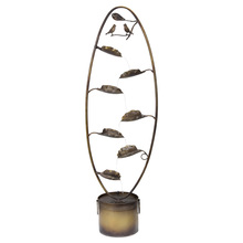 "More about the 'Bird Fountain 8.5""Wx 58.75""H Iron' product"