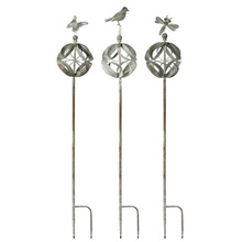 "More about the 'Garden Stake (Set of 3) 60""H Iron' product"