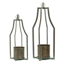 "More about the 'Candle Holder (Set of 2) 25""H, 31""H Iron' product"