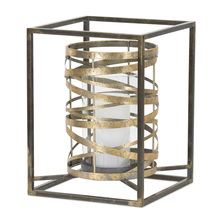 "More about the 'Candle Holder 13.25""H Metal/Glass' product"
