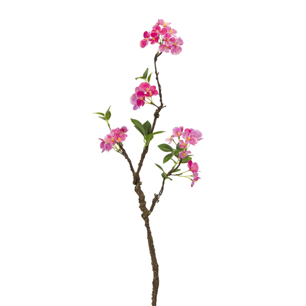 "Blooming Branch (Set of 12) 30""H Polyester - Pink, Green"