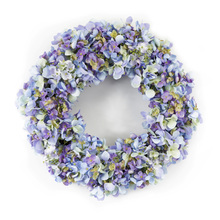 "More about the 'Hydrangea Wreath 16""D Polyester' product"