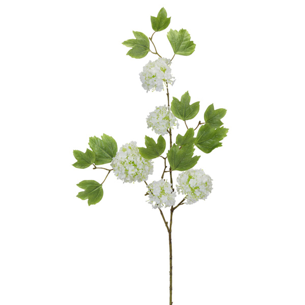 "Snowball Branch (Set of 12) 38""H Polyester"