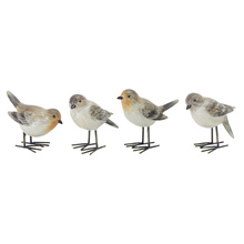 "More about the 'Bird (Set of 4) 3.75""H Resin' product"
