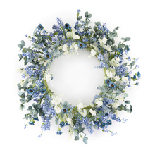 "More about the 'Floral Wreath 17""D Paper' product"