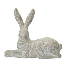 "More about the 'Rabbit (Set of 2) 14"" x 12""H Gypsum - Brown, White' product"