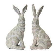 "More about the 'Rabbit (Set of 2) 17.25""H Gypsum' product"
