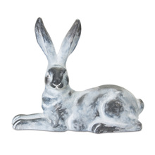 "More about the 'Rabbit (Set of 2) 14"" x 12""H Gypsum - White, Grey' product"