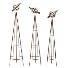 "More about the 'Obelisks (Set of 3) 56""H, 58""H, 62""H Metal' product"