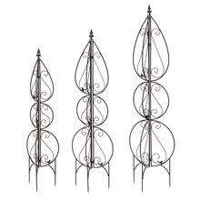 "More about the 'Trellis (Set of 3) 51""H, 59""H, 66.5""H Metal' product"