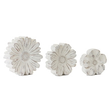 "More about the 'Flower (Set of 3)5""H, 6""H, 7""H Resin/Stone Powder' product"